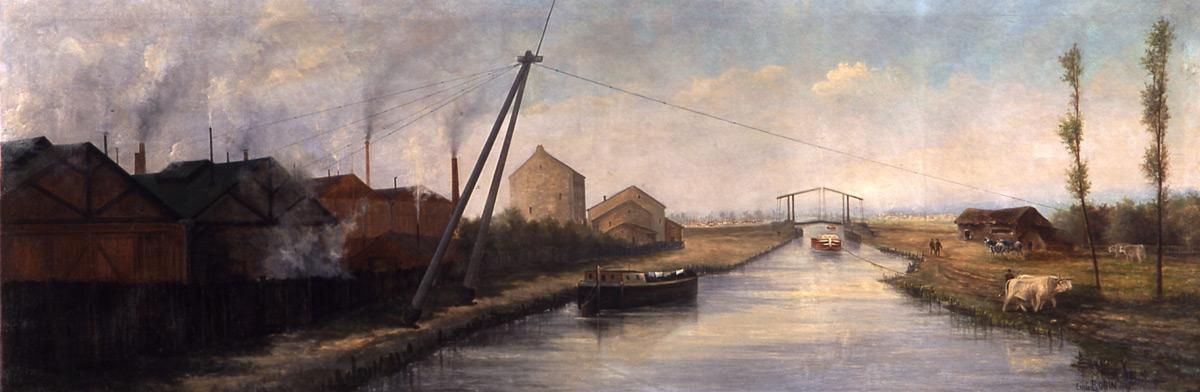 Emile Robin, Canal de Saint-Denis © I. Andréani