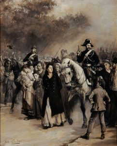 Jules Girardet, L'arrestation de Louise Michel © I. Andréani