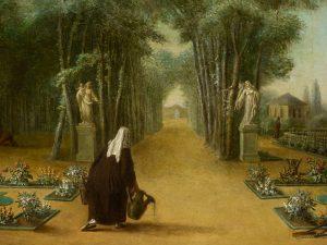 Laurent Guillot, Les carmélites au jardin (détail) © I. Andréani