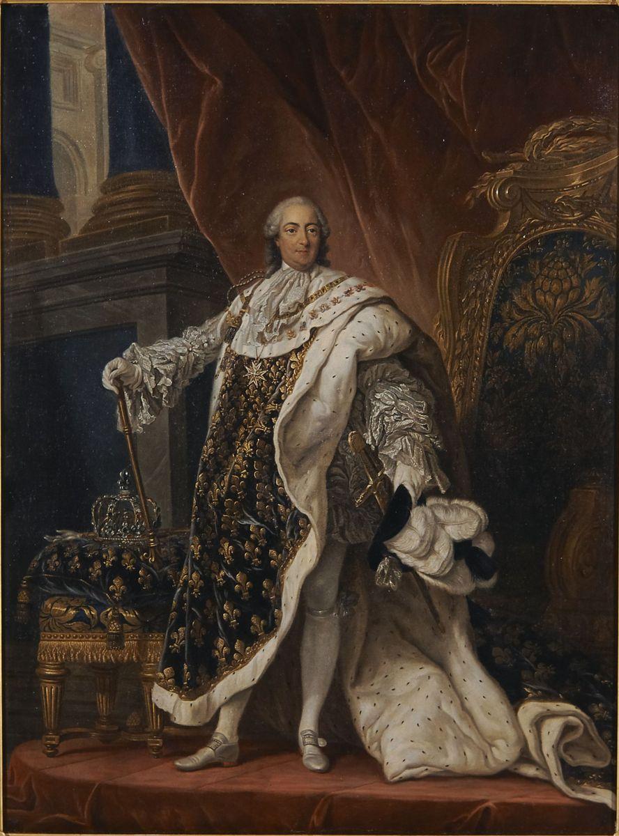François Guérin, Louis XV en costume de sacre © I. Andréani