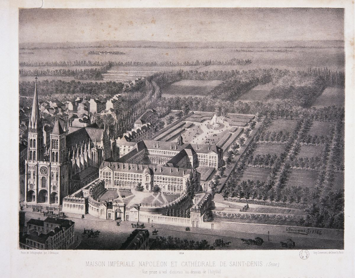 Julien Devicque, Maison Impériale Napoléon et Cathédrale de Saint-Denis © I. Andréani