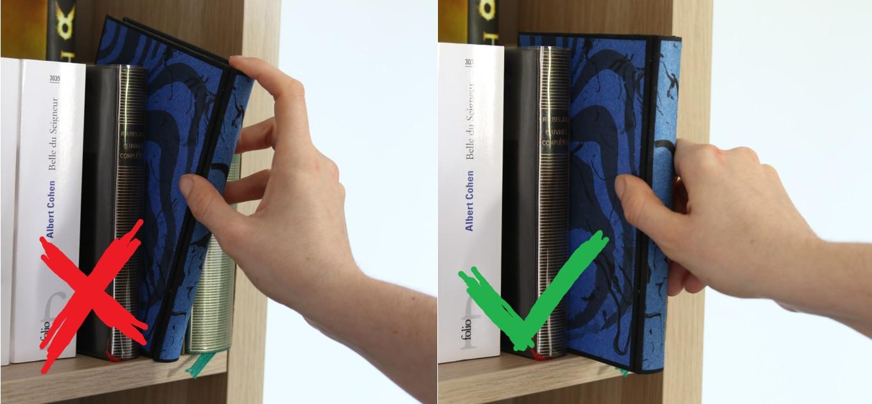 Il ne faut jamais attraper un livre par la coiffe