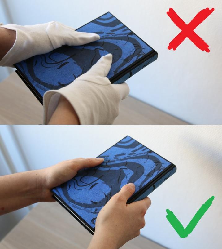 L'usage de gants n'est pas recommandé dans la majeure partie des cas.