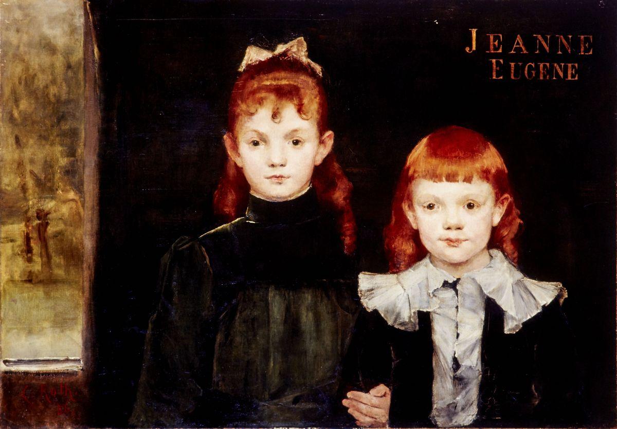 Clémence Roth, Jeanne et Eugène © I. Andréani