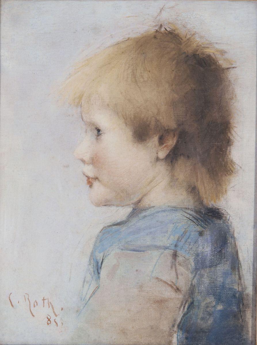 Clémence Roth, Étude d'enfant © I. Andréani