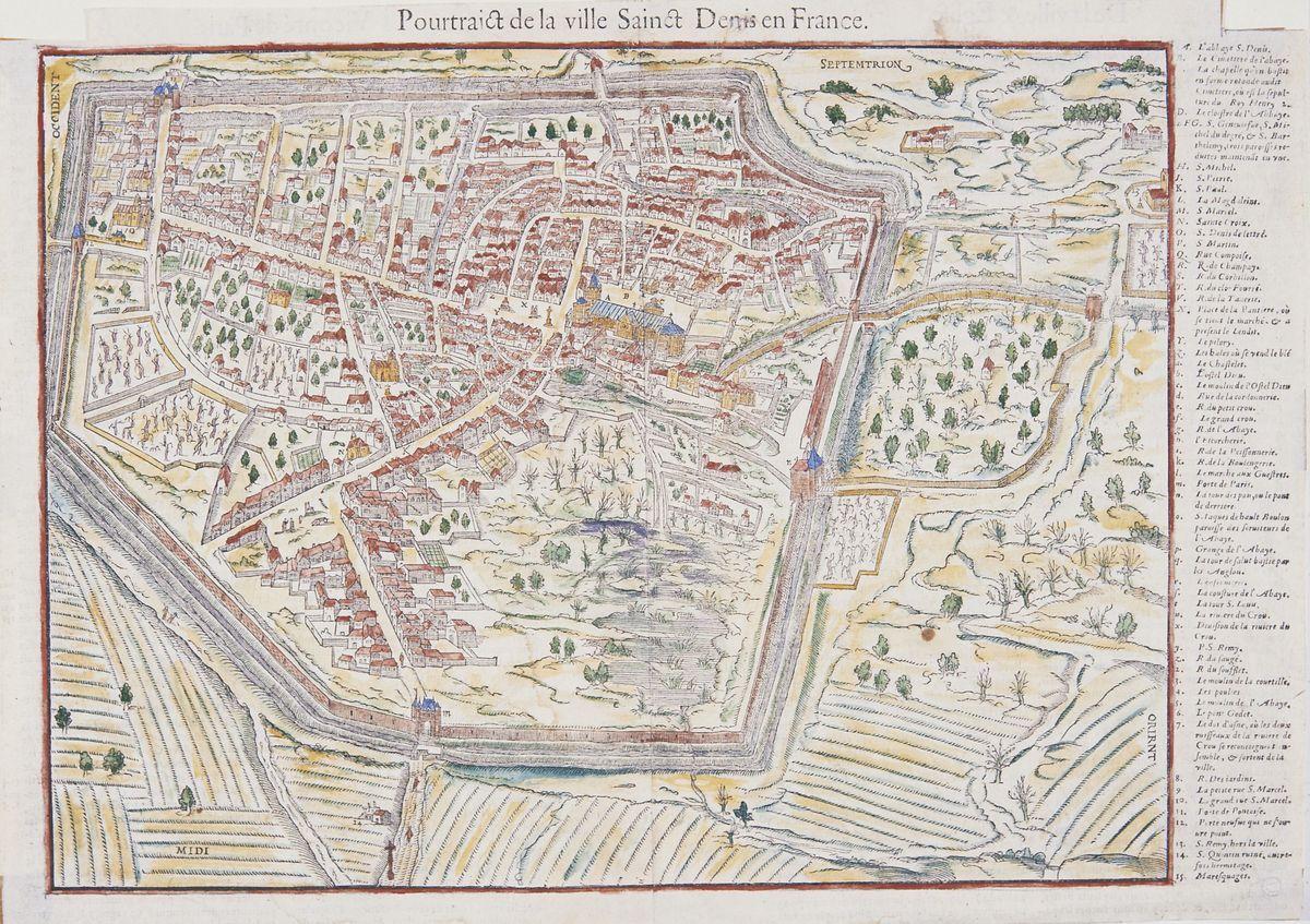 QUIZZ : Au Moyen Âge, la plus grande rue de Saint-Denis s'appelait la rue Compoise !